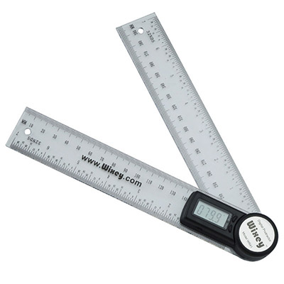 stairfurb fitting digital angle protactor stairs