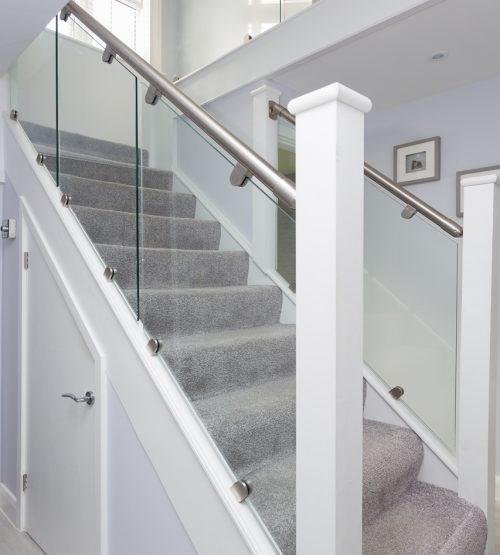 Glass Staircase Balustrade Kit: Stainless Steel & Glass Balustrade Kit