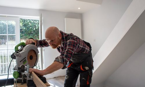 trade stairfurb fitting fitter stairs renovation work interior tools